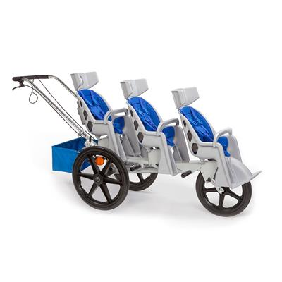 Runabout, 3 Seater, Blue