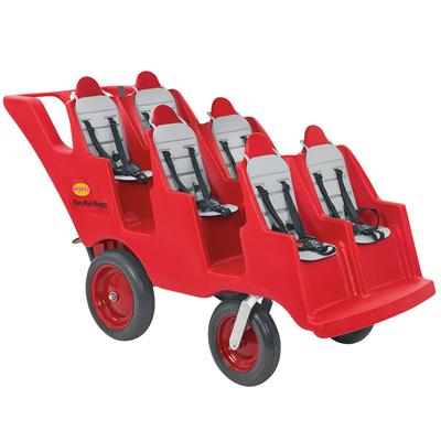 Bye-Bye Buggy, 6 Seater, Red