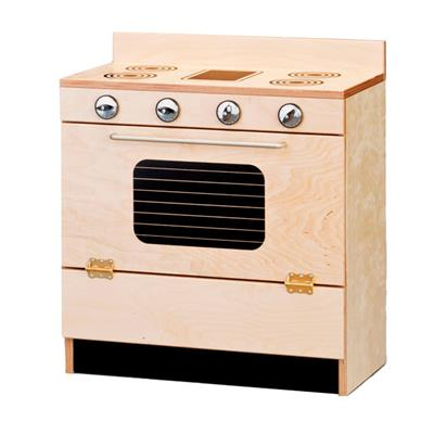 Classic Kitchen Deluxe Stove, Birch