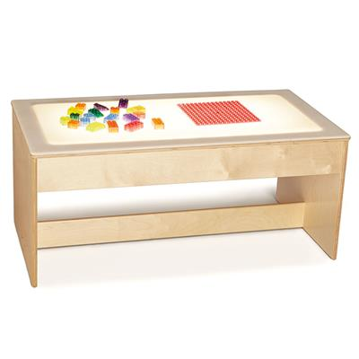 "Large LED Light Table, 18-1/2"" High"