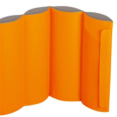 Mobile Partitions Kit, Small, Orange, Set of 2