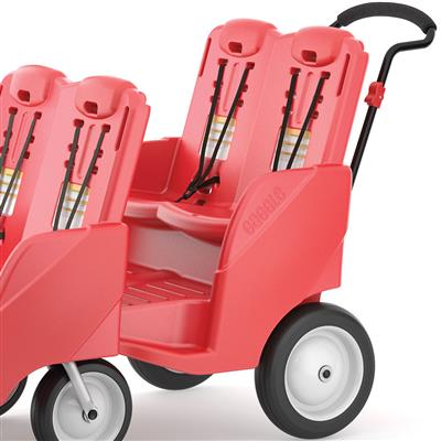 Gaggle Buggy, 4 Passenger, Red