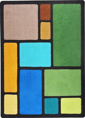 "Our Block Rug, 7'8"" x 10'9"", Rectangle, Natural"