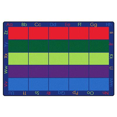 Colourful Places Seating Rug, 6' x 9', Rectangle