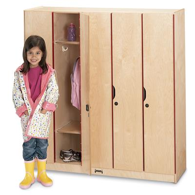 5-Section Locker with Doors