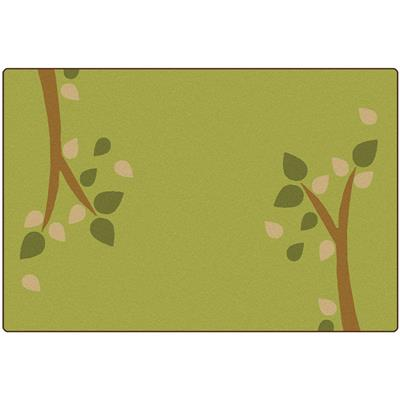 KIDSoft Branching Out, 8' x 12', Green, Rectangle